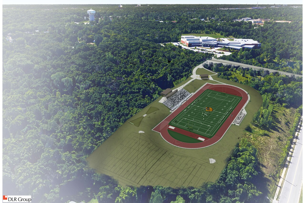 Turner High School Stadium Rendering