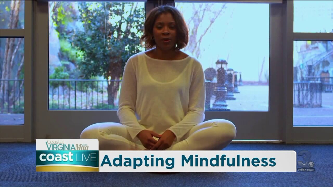 A lesson in mindfulness on Coast Live
