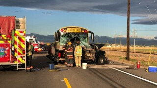 Bus v SUV on Oct 7 2021_Front Range Fire Rescue