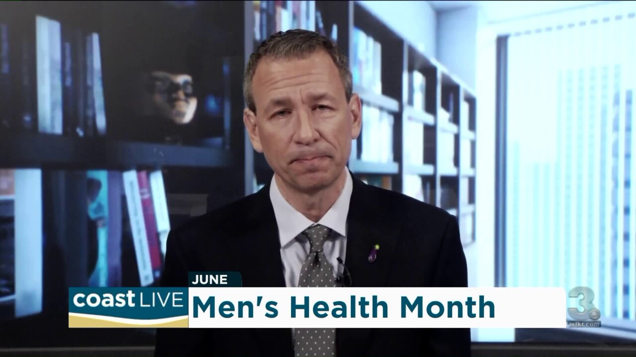 Talking with a doctor about men's sexual and overall health on Coast Live