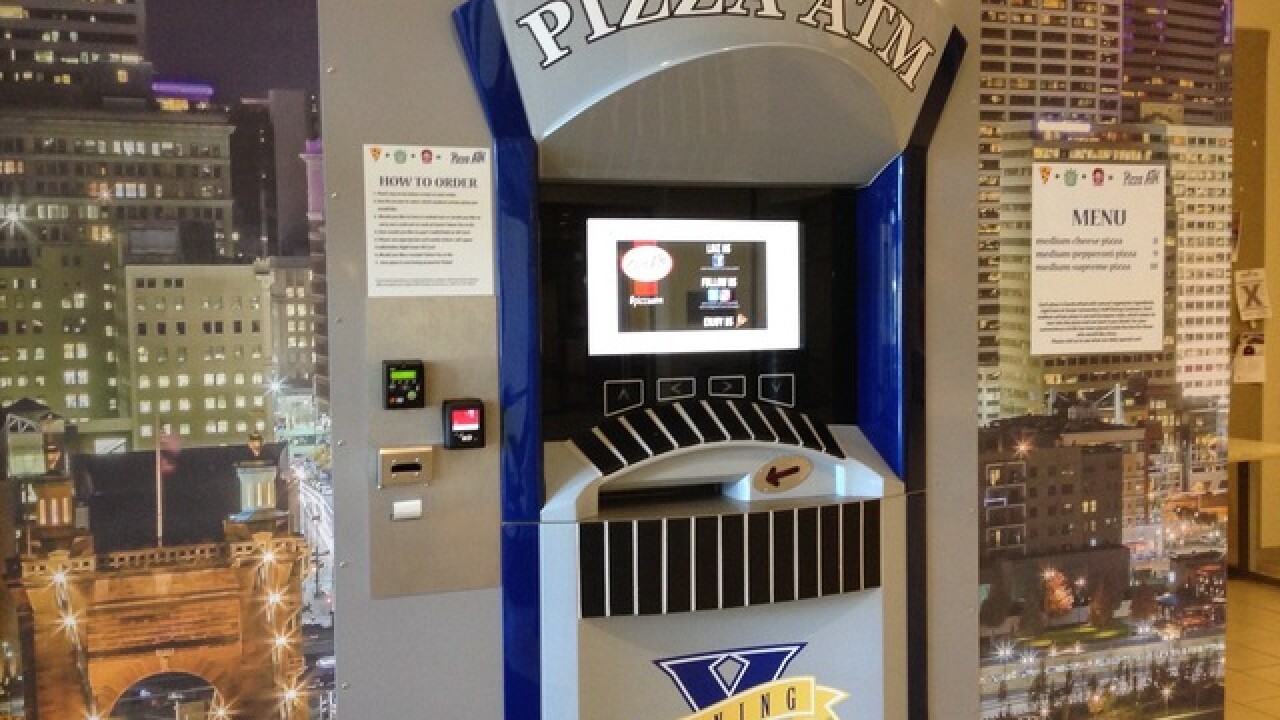 Pizza ATM ready to take continent