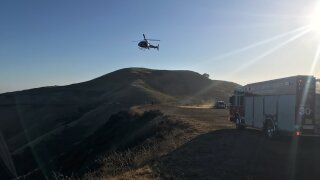 CAL FIRE assisting with accident