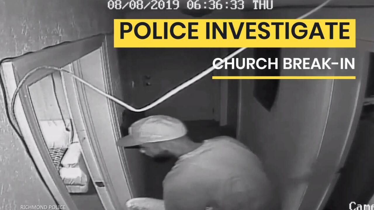 Police release church break-invideo