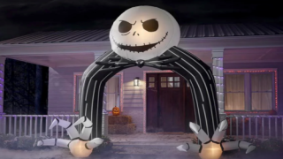 Home Depot Has Brand-New Halloween Inflatables Including A Jack Skellington Arch