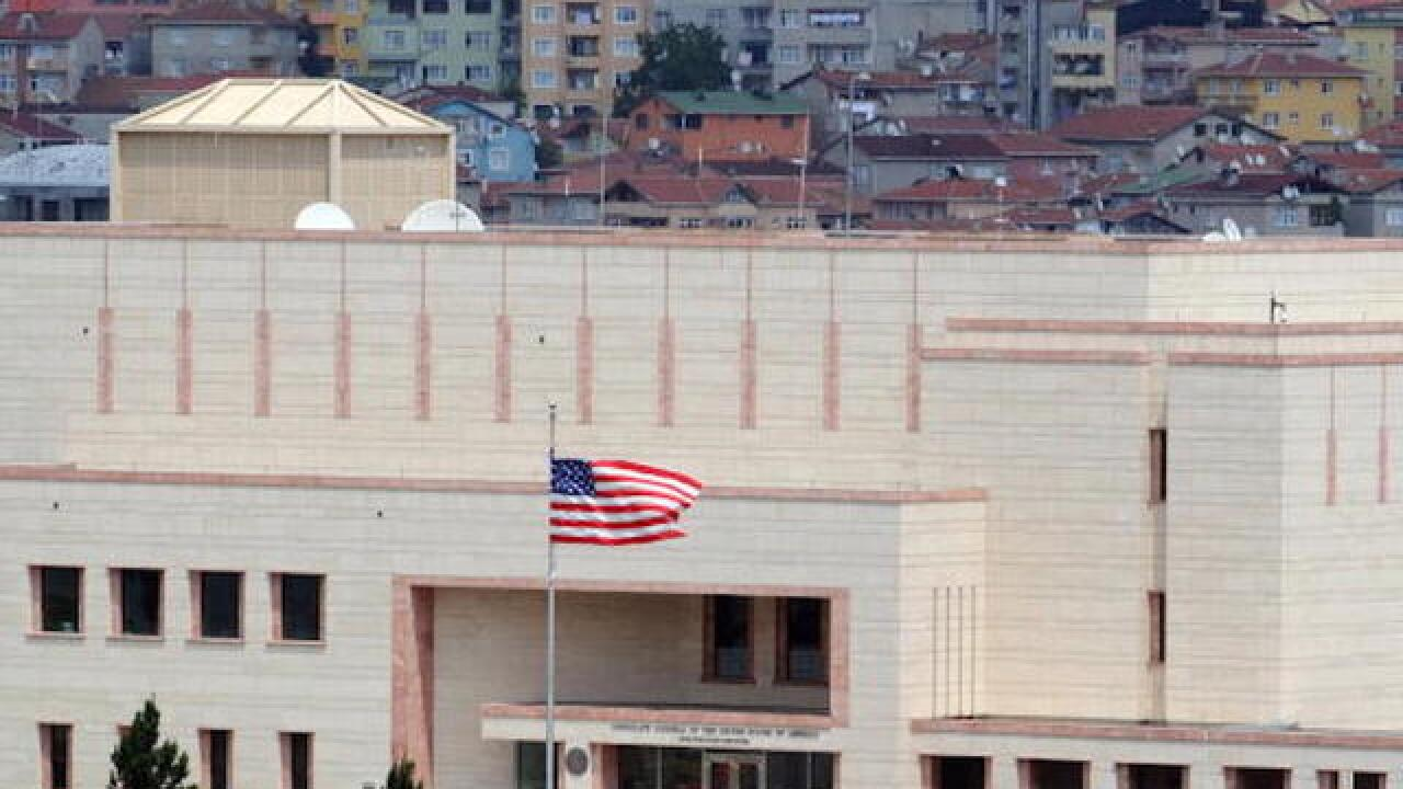 Families of US consulate workers in Istanbul ordered to leave
