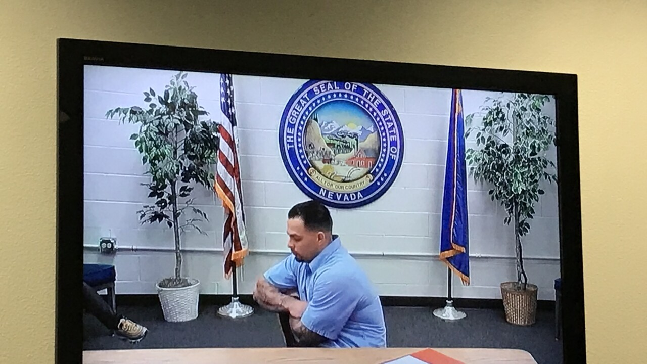James Michael Beach has been locked up for the last three years on Monday and proclaimed he is a changed man and apologized to the family of the man he killed in downtown Las Vegas with a single punch.