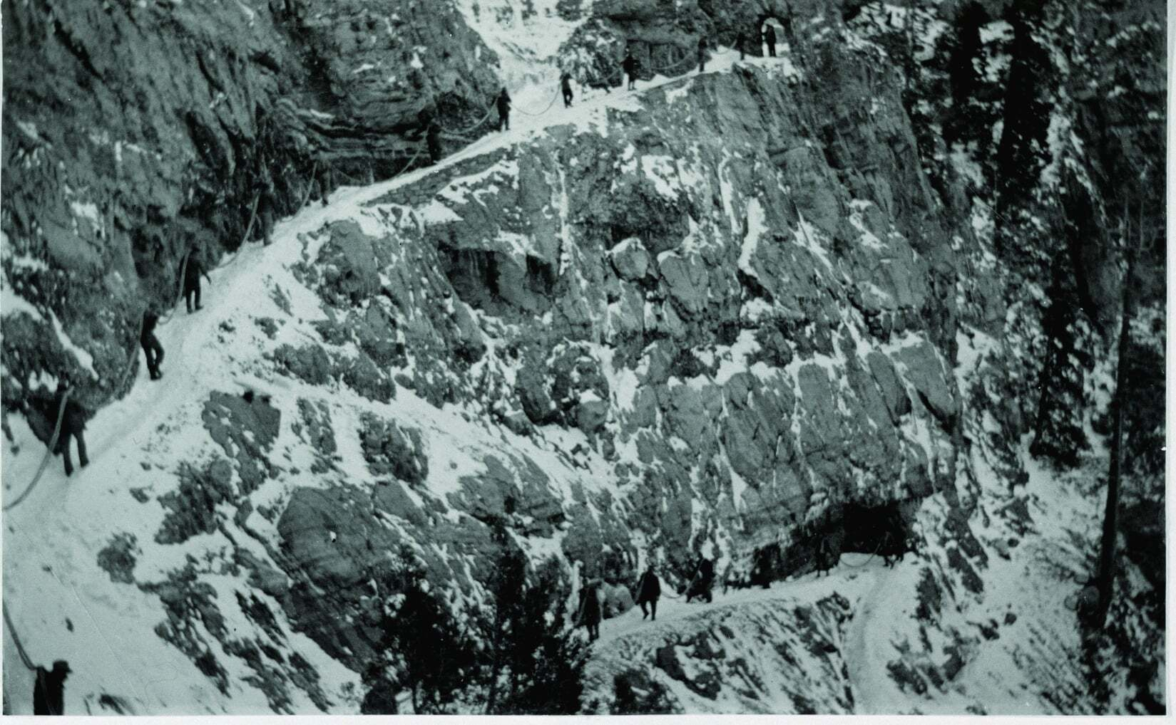 Photos: A look back at how electricity got to Timpanogos Cave