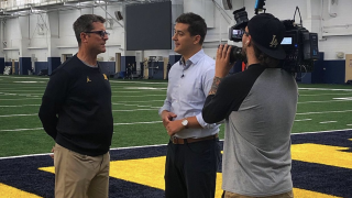 Jim Harbaugh on Michigan QB Shea Patterson: 'This is a really good quarterback'
