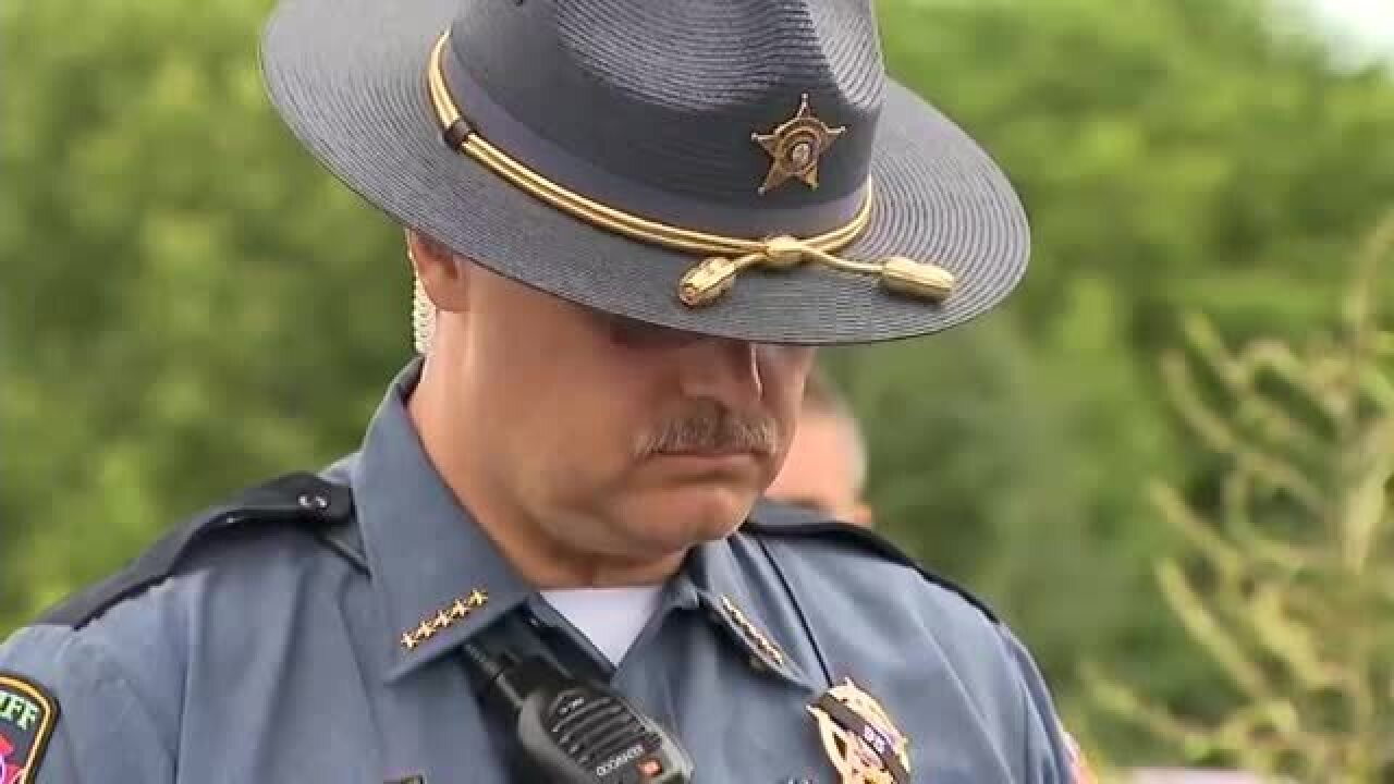 Sheriff Reads Statement From Slain Deputy's Wife