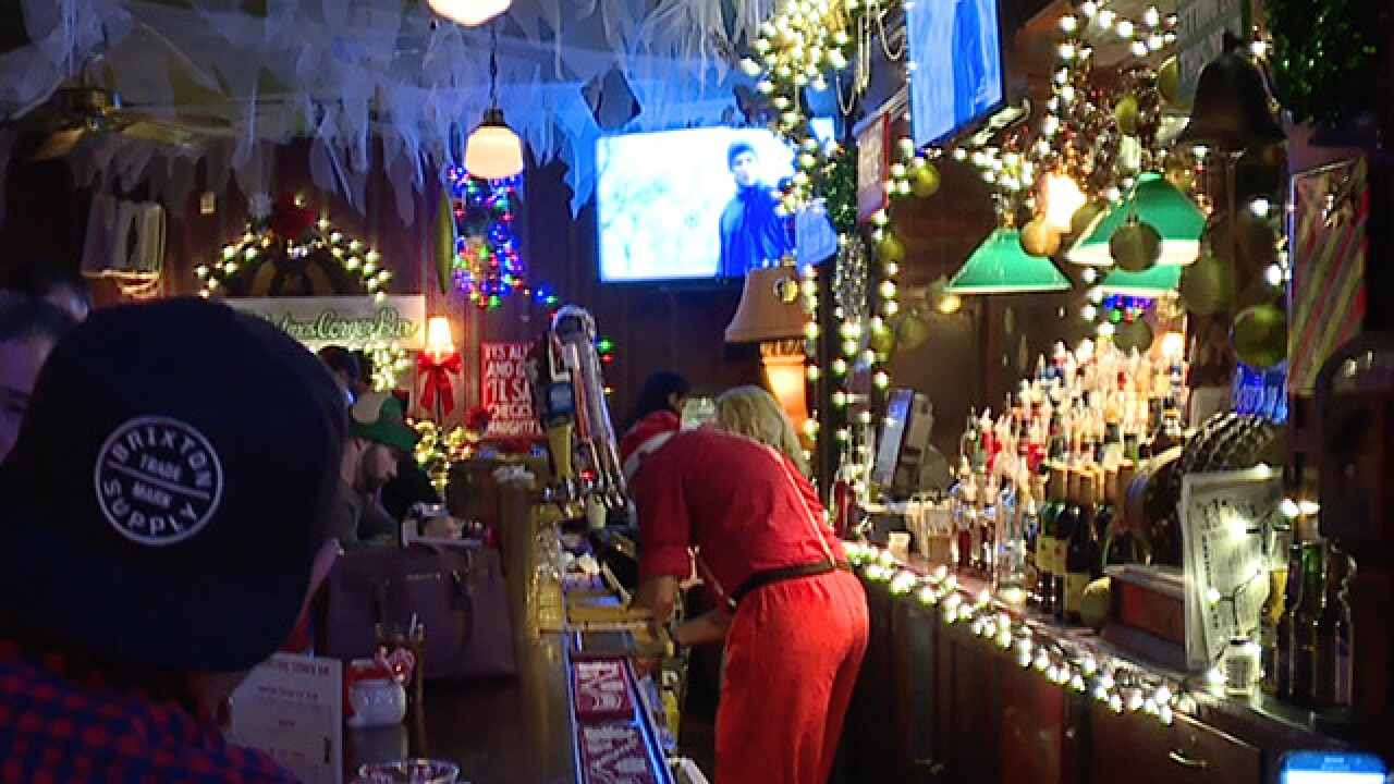 Pop up Christmas bar brings an overload of Christmas spirit to Lakewood