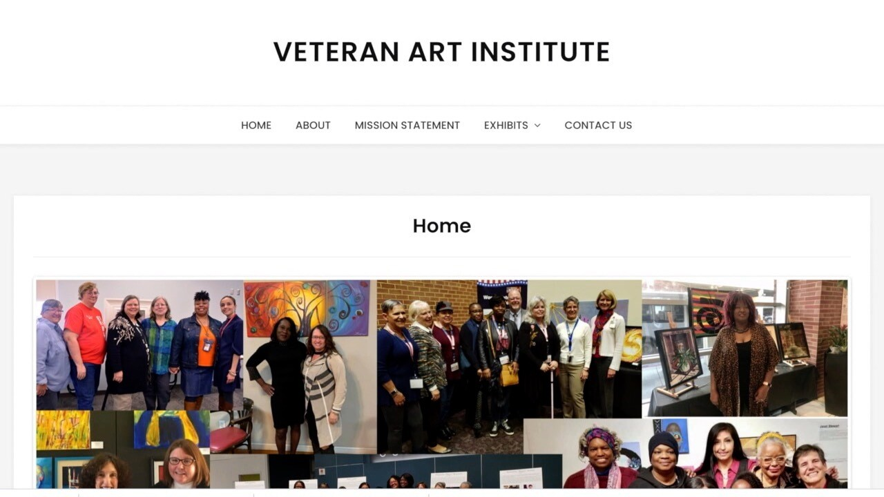 Veteran Art Institute Homepage