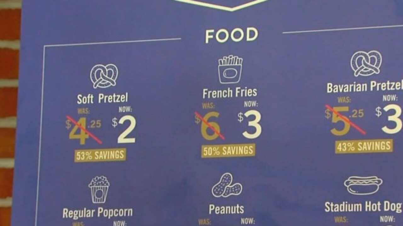 Ravens introduce 'Flock Friendly Fare'