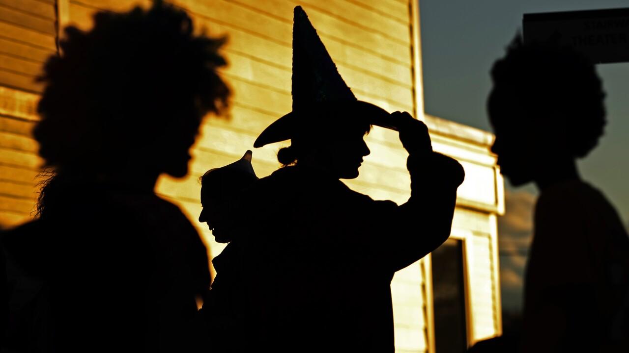 APTOPIX Halloween Maine