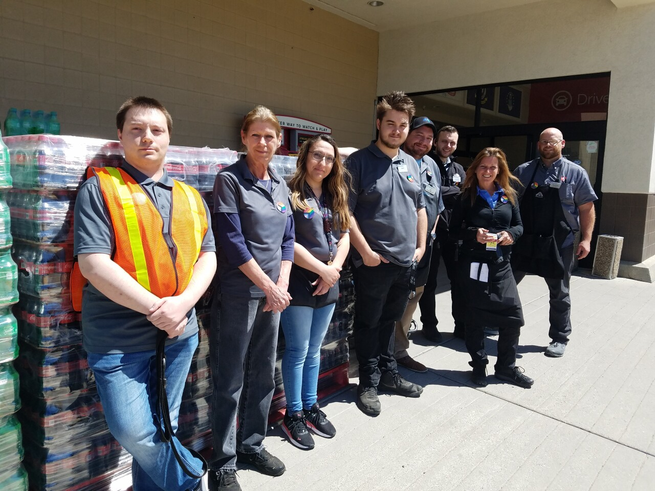Helena stores collecting donation for Deep Creek Fire firefighters