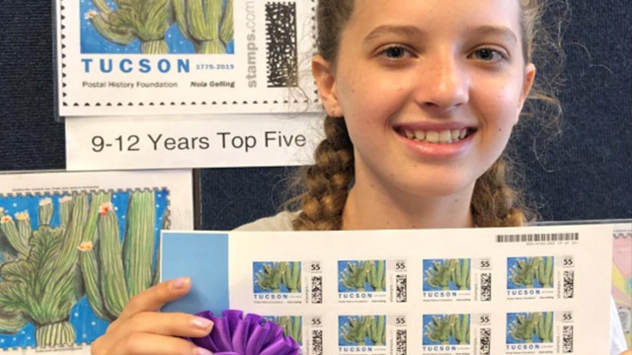 Tucson Birthday Stamp