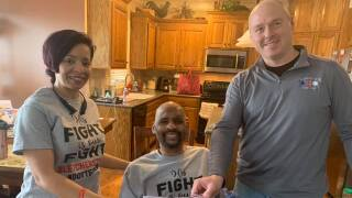 KCKFD Assistant Chief Morris Letcher recovering