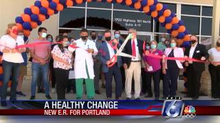 The new ER 24/7 emergency medical center is open in Portland