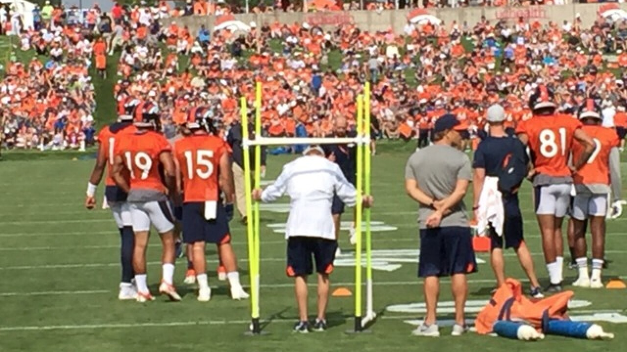 PHOTOS: Broncos training camp at Dove Valley