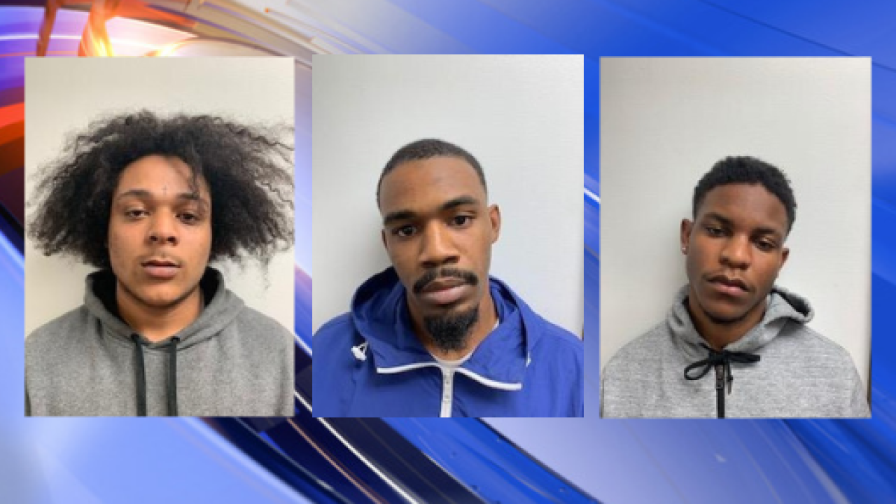 3 suspects arrested after Bertie Co. house shot into