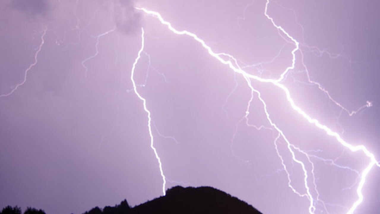 Two possibly struck by lightning in Parkland
