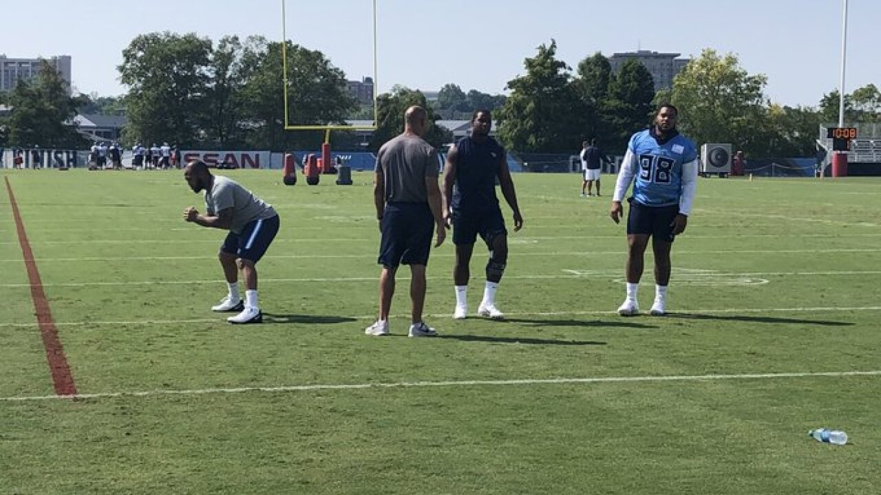 Titans camp: Jurrell Casey, Jonnu Smith, Jeffrey Simmons