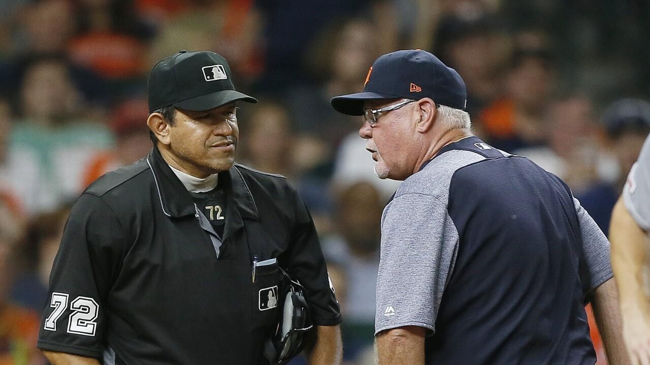 Cabrera, Gardenhire ejected as Astros beat Tigers