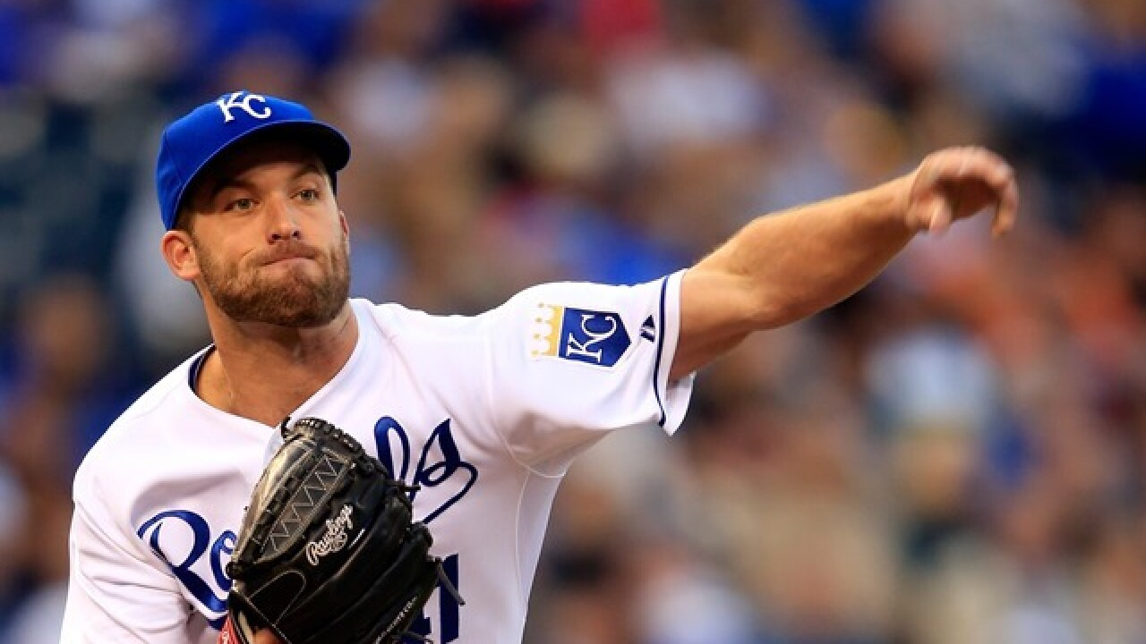 Royals pitcher Danny Duffy pleads guilty to DUI in Overland Park