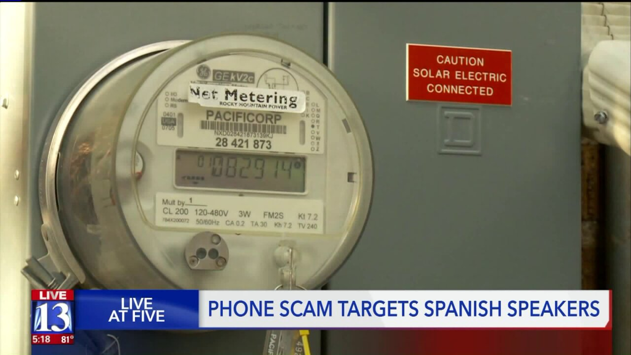 Rocky Mountain Power warns customers of new scam targeting Spanish-speakers