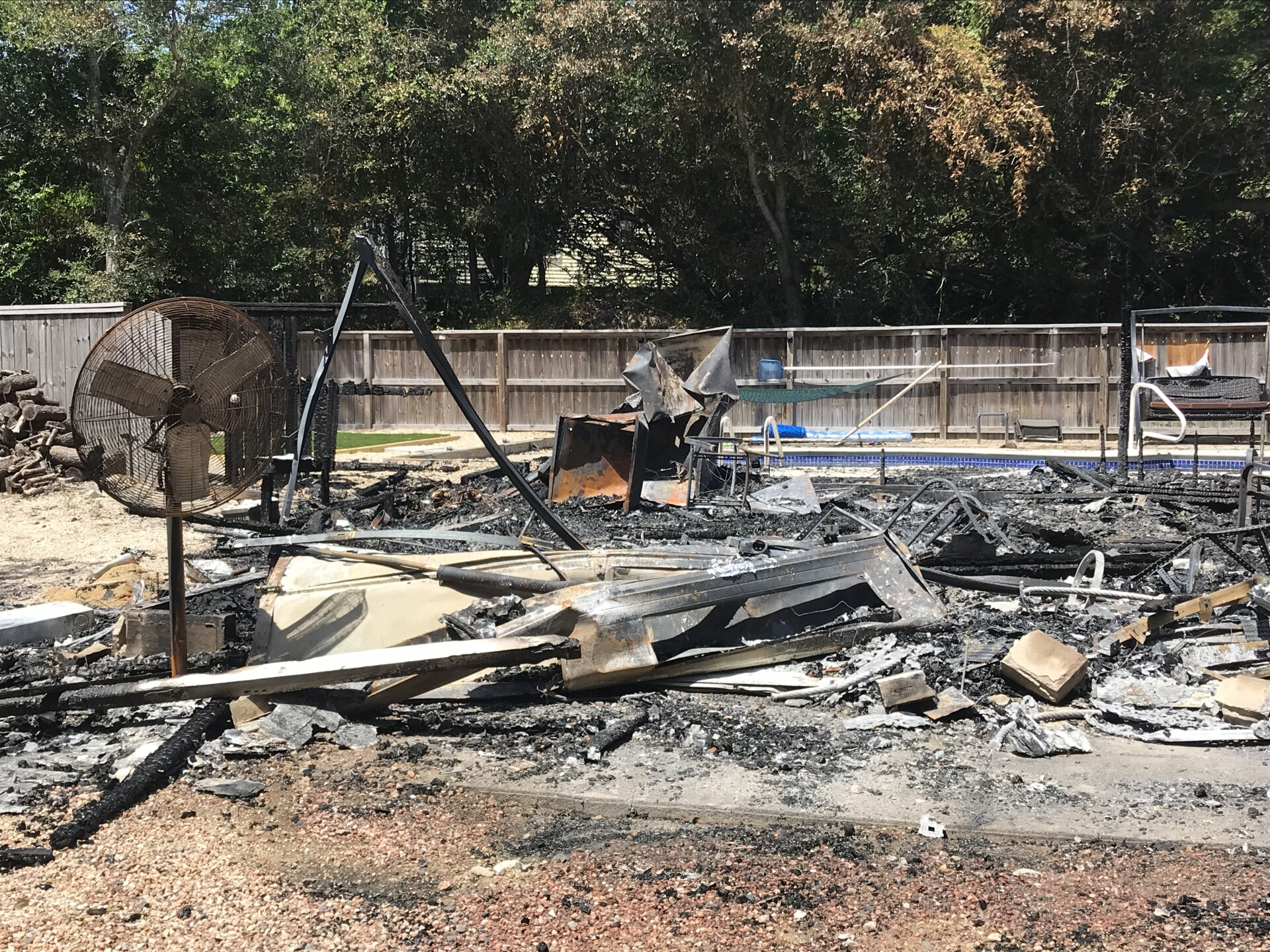 Photos: Grill, electrical fires damage two homes in Southern Shores