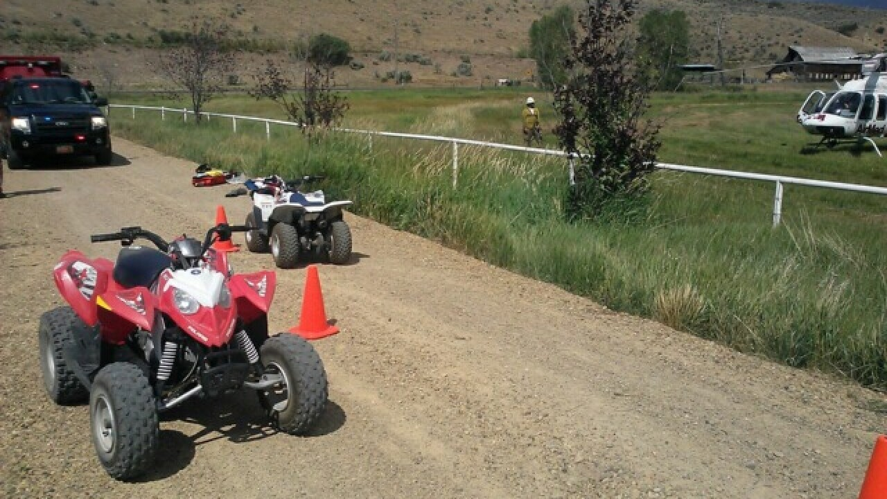 Boy, 11, critically injured in ATV accident