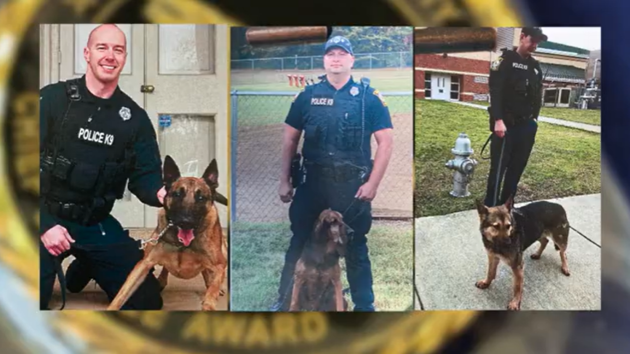Workload grows for Henrico Police's K-9 unit during pandemic