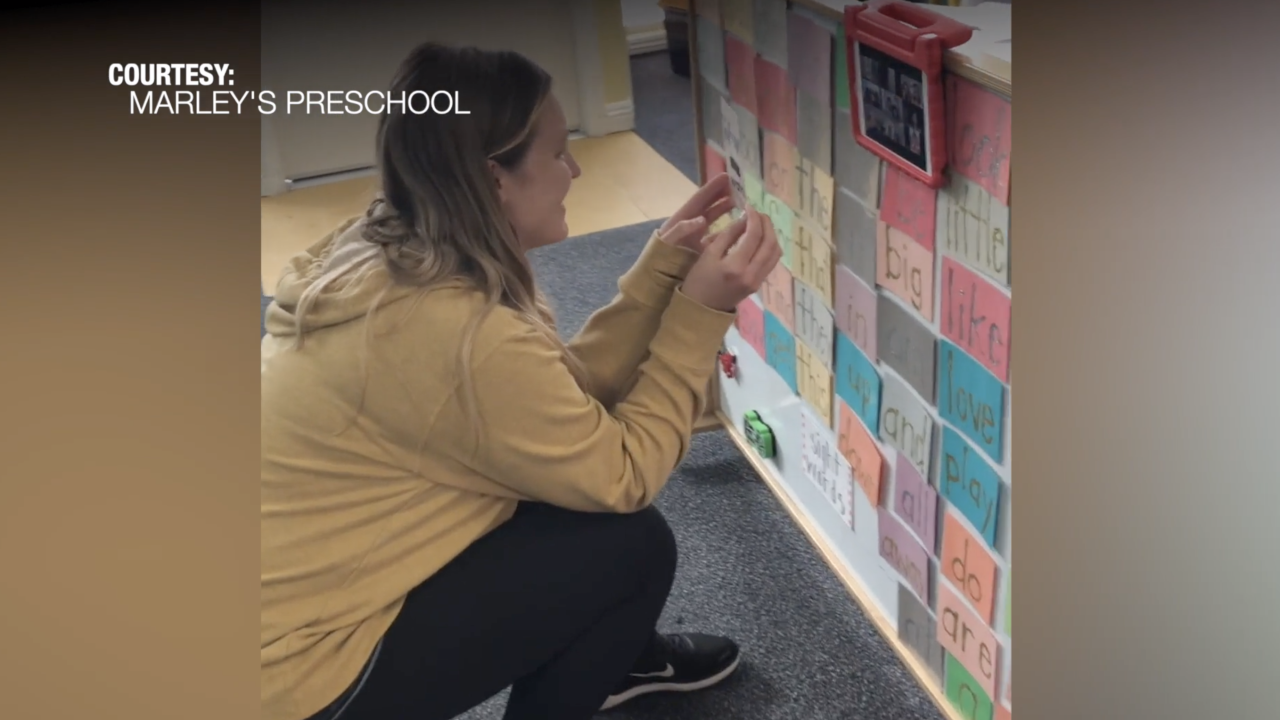 Preschool tackles virtual learning for kids under 5
