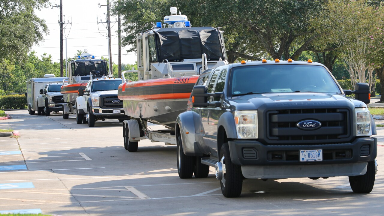 Coast Guard prepares for tropical storms along Texas coast