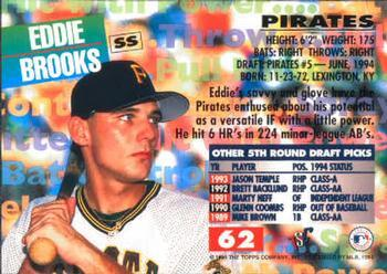 Eddie Brooks baseball card
