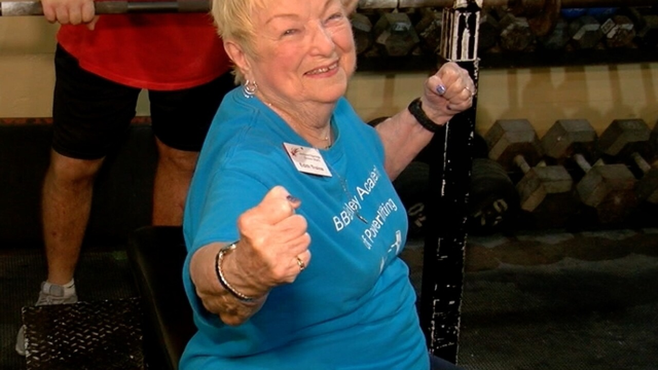 97-year-old Tampa woman proves powerlifting helps women