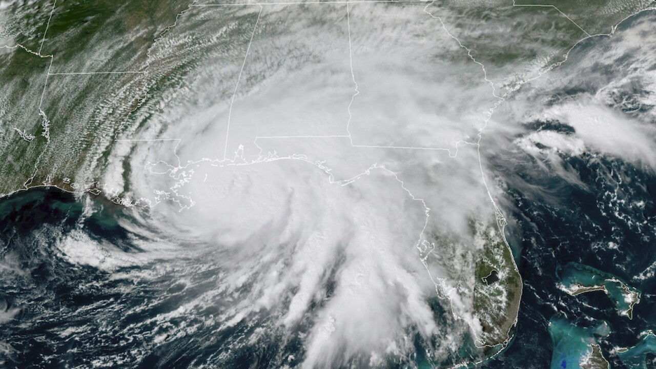 Sally makes landfall in Alabama as a Category 2 hurricane