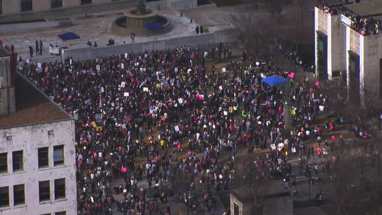 Thousands Attend Women's March In Nashville