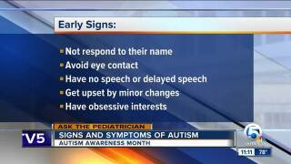 Autism Awareness Month: Signs and symptoms of autism