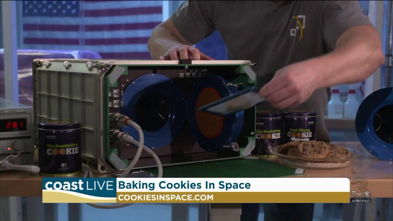 Cookies in space on CoastLive