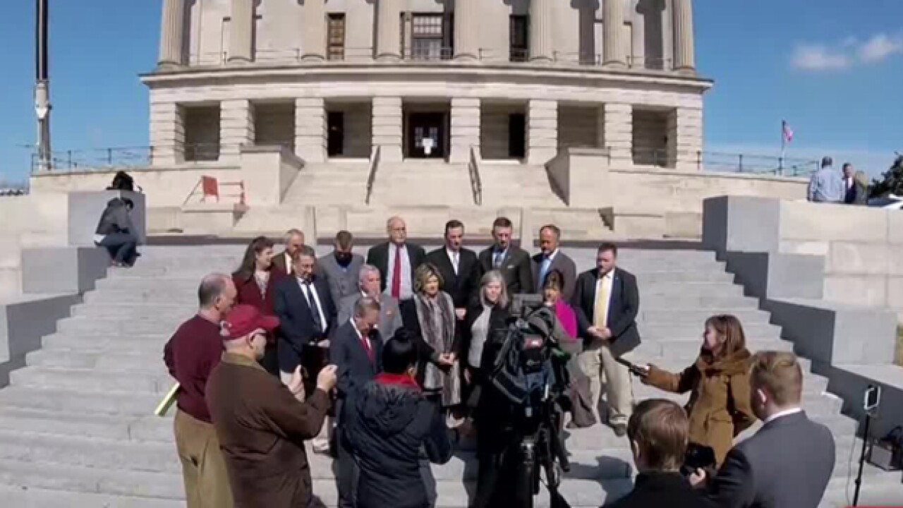 Lawmakers Fight For Abortion Victims Monument