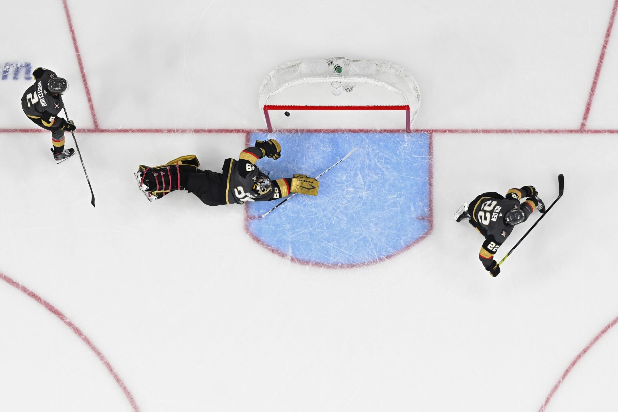 APTOPIX Canadiens Golden Knights Hockey