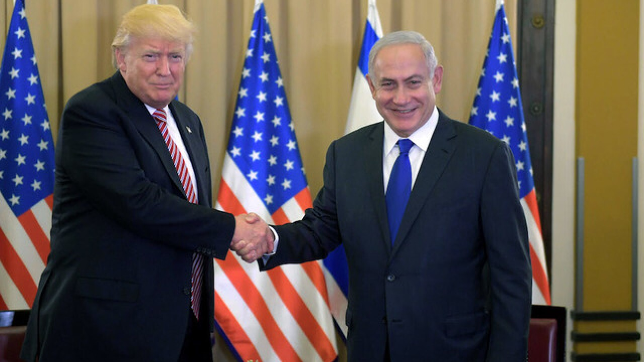 Trump: Israelis and Palestinians are ready 'to reach for peace'
