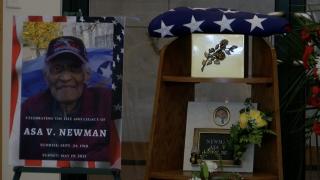 Asa Newman funeral