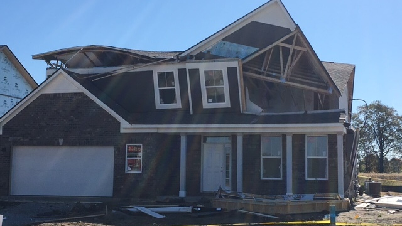 PHOTOS: Natural gas explosion collapses house