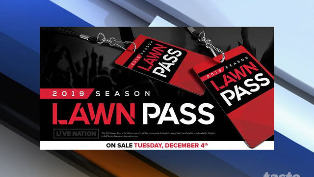 Unlimited Lawn Pass comes to Coral Sky Amphitheatre