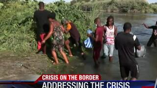 Gov. Abbott addresses border crisis on Del Rio
