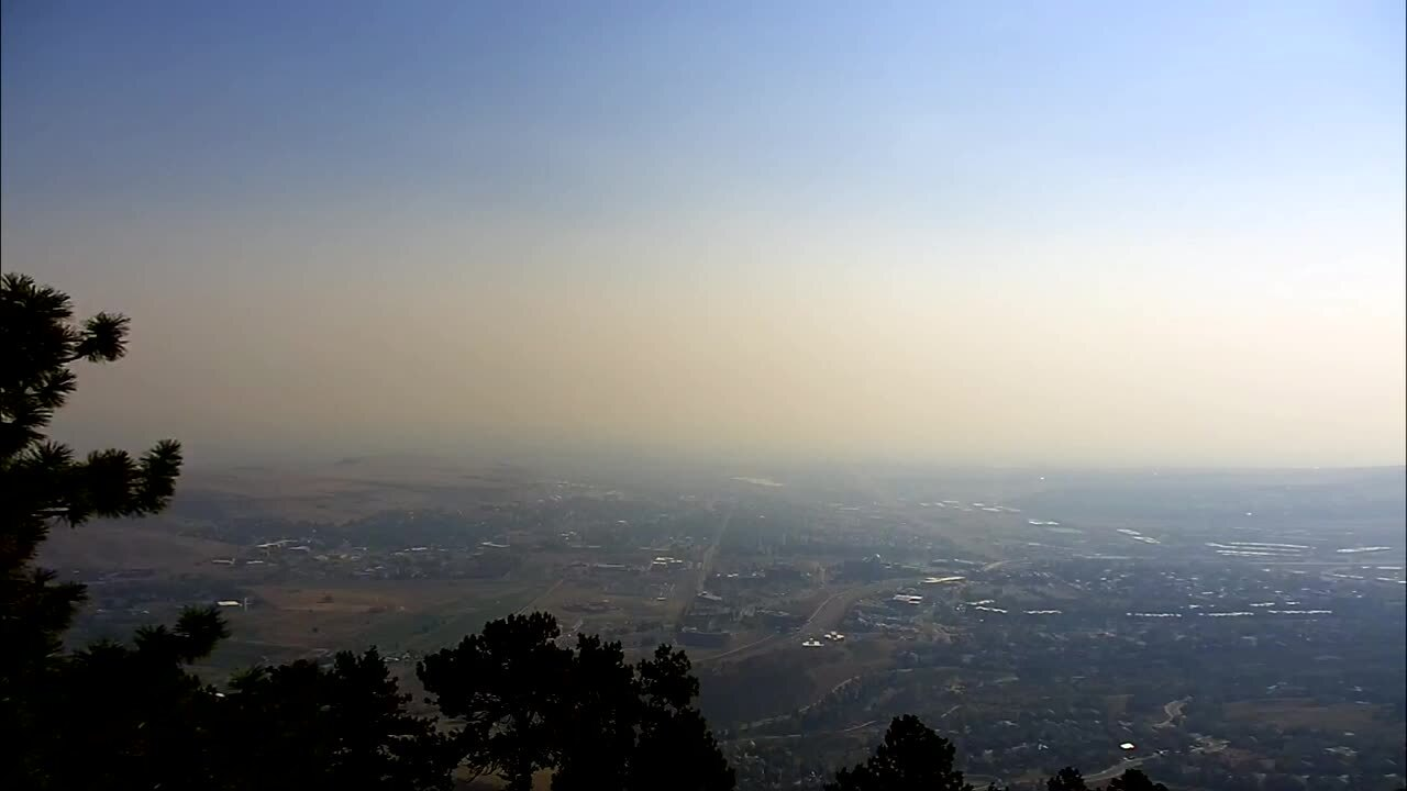 poor front range air quality wildfire smoke sept 30