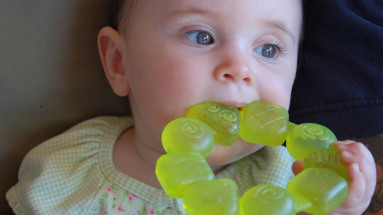 how to stop teething pain