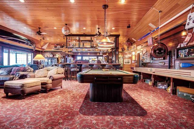 Photo gallery: Inside the massive boathouse for sale in Charlevoix for $6.8 million