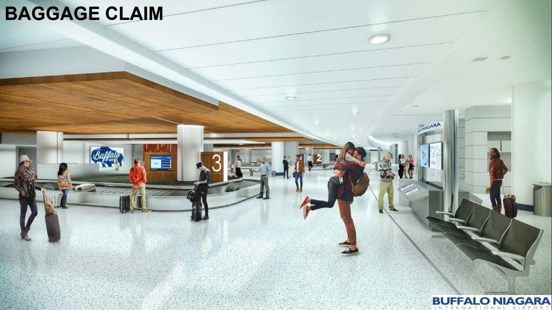 NEW LOOK AT BUFFALO AIRPORT